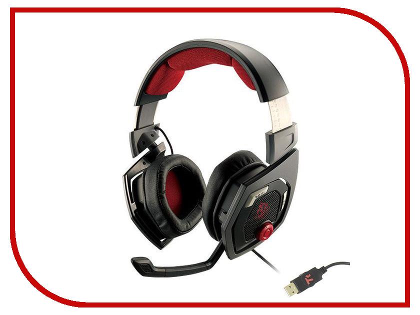 ��������� Tt eSports Shock 3D 7.1 Black HT-RSO-DIECBK-13