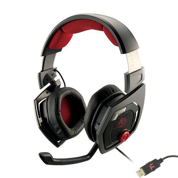 Гарнитура Tt eSports Shock 3D 7.1 Black HT-RSO-DIECBK-13<br>