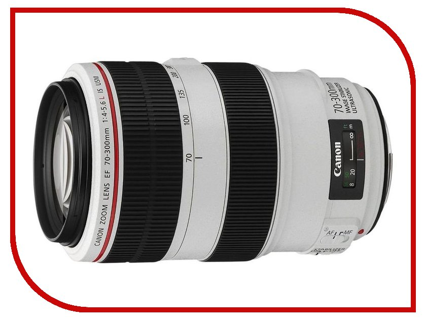Объектив Canon EF 70-300 mm F/4-5.6 L IS USM q103 usr wifi232 t evk tiny size low power rs232 turn wifi module evaluation kit convetor