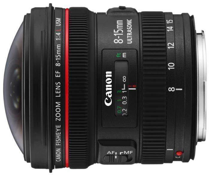 Объектив Canon EF 8-15 mm F/4.0 L USM Fisheye<br>