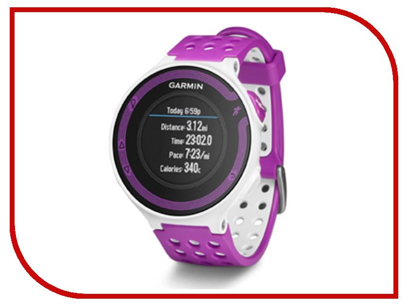 Умные часы Garmin Forerunner 220 White-Violet HRM3 010-01147-69<br>