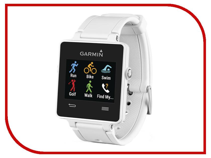 Zakazat.ru: Умные часы Garmin Vivoactive White HRM 010-01297-11