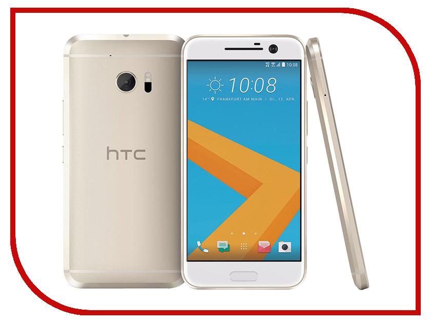 Фото Сотовый телефон HTC 10 32GB Topaz Gold