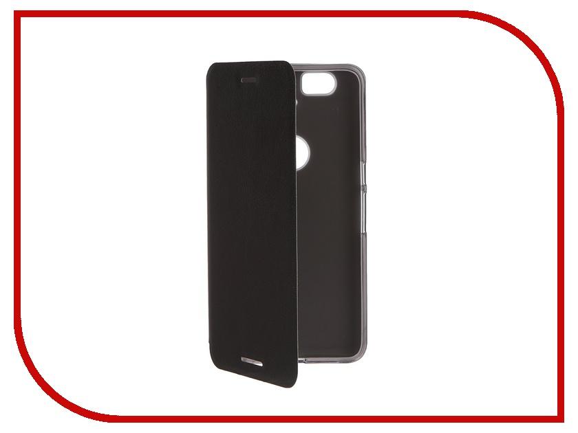 ��������� ����� Huawei Nexus 6P SkinBox Lux Black T-S-LN6P-003