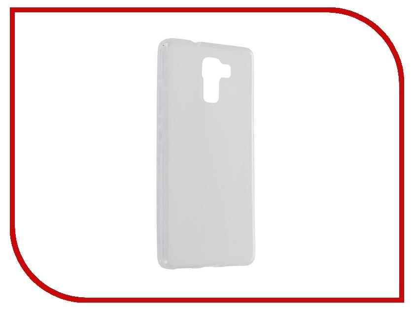 Аксессуар Чехол Huawei Honor Honor 7 SkinBox Shield Silicone Transparent T-S-HH7-005