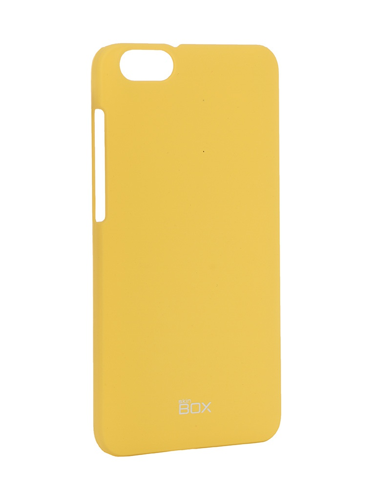 Аксессуар Чехол Huawei Honor 4X SkinBox 4People Yellow T-S-HH4X-002 + защитная пленка<br>