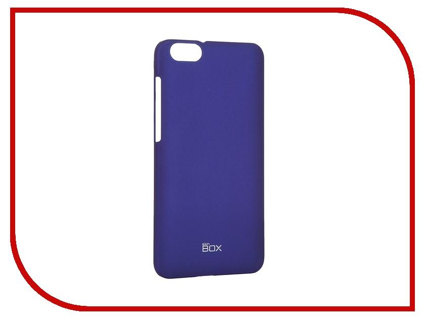 Аксессуар Чехол Huawei Honor 4X SkinBox 4People Blue T-S-HH4X-002 + защитная пленка<br>