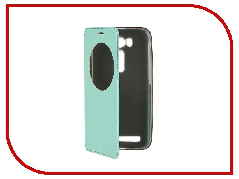 Аксессуар Чехол ASUS Zenfone Laser 2 ZE500KL SkinBox MS AW Green T-S-AZ2500KL-007<br>
