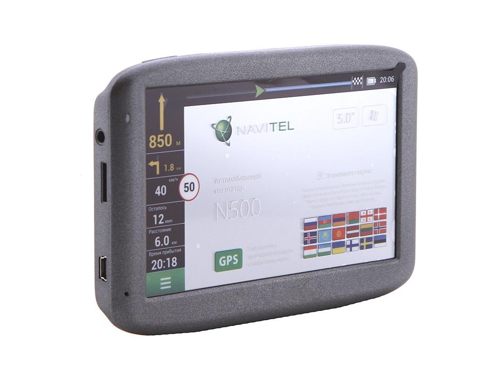 Навигатор Navitel N500 с предустановленным комплектом карт