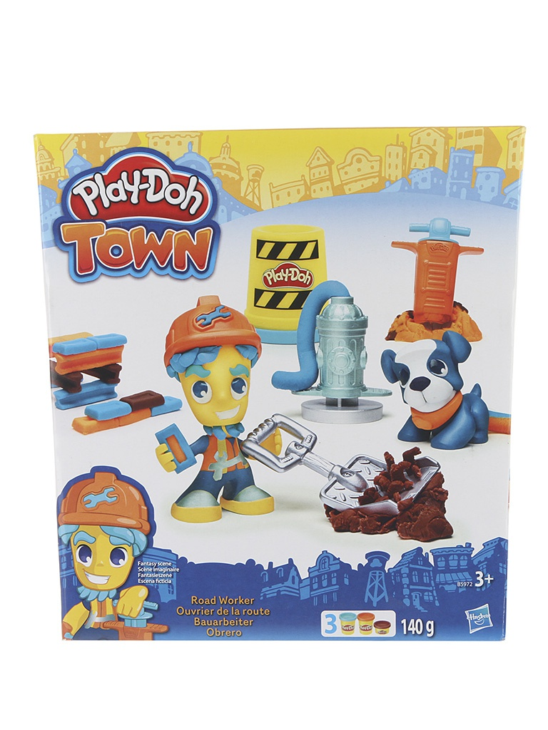 Игрушка Hasbro Play-Doh Житель и питомец B3411