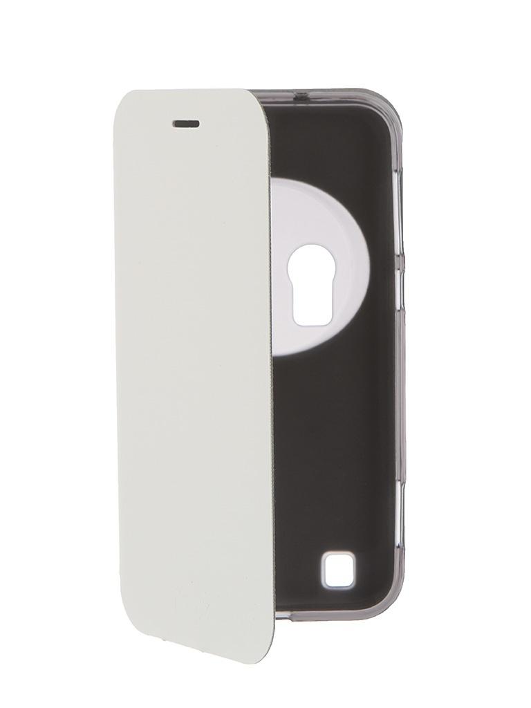 Аксессуар Чехол ASUS Zenfone Zoom ZX551ML SkinBox Lux White T-S-AZX551ML-003<br>
