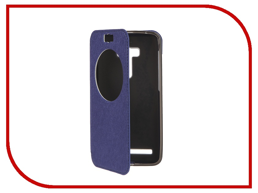 Аксессуар Чехол ASUS Zenfone Selfie ZD551KL SkinBox MS AW Blue T-S-AZD551KL-007<br>