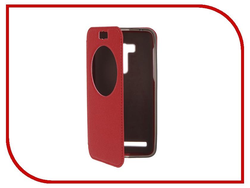 Аксессуар Чехол ASUS Zenfone Selfie ZD551KL SkinBox MS AW Red T-S-AZD551KL-007<br>