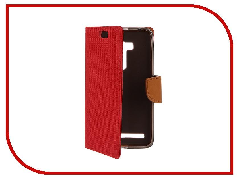 Аксессуар Чехол ASUS Zenfone Selfie ZD551KL SkinBox MS Red T-S-AZD551KL-004<br>