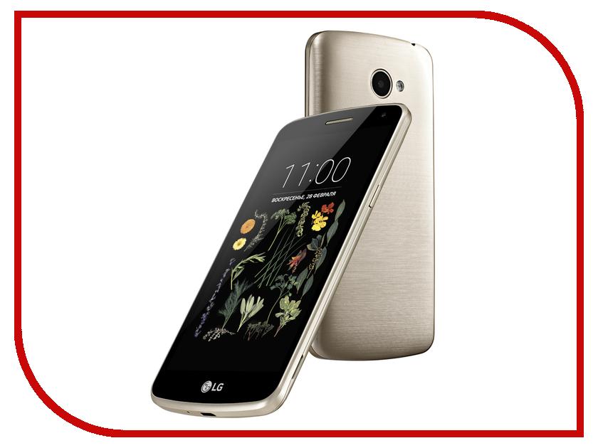 Сотовый телефон LG X220DS K5 Black Gold<br>
