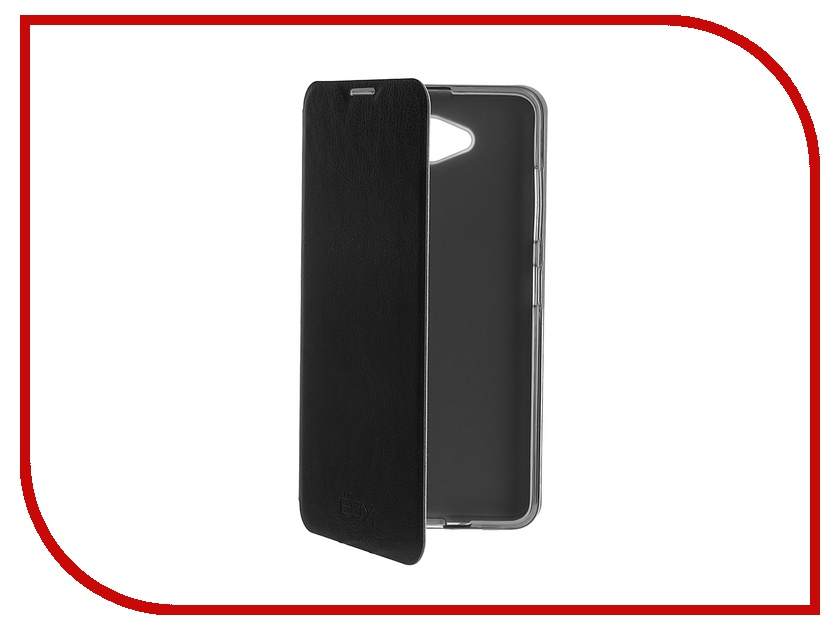 ��������� ����� Microsoft Lumia 650 SkinBox Lux Black T-S-ML650-003