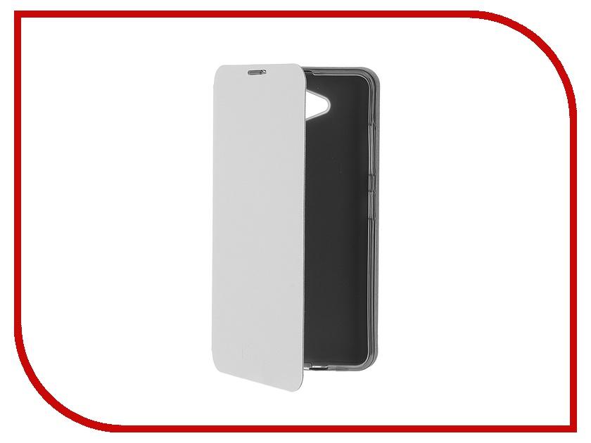 Аксессуар Чехол Microsoft Lumia 650 SkinBox Lux White T-S-ML650-003<br>