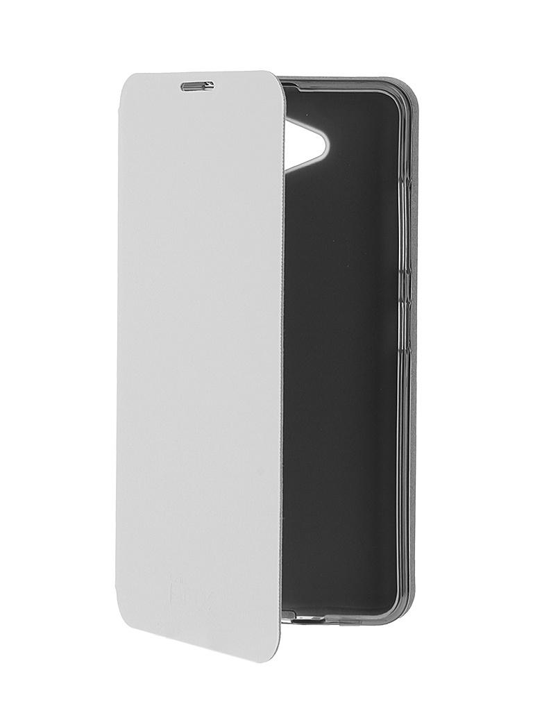 ��������� ����� Microsoft Lumia 650 SkinBox Lux White T-S-ML650-003