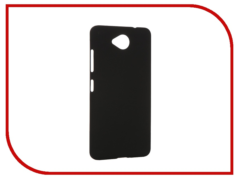 Аксессуар Чехол Microsoft Lumia 650 SkinBox Shield 4People Black T-S-ML650-002<br>