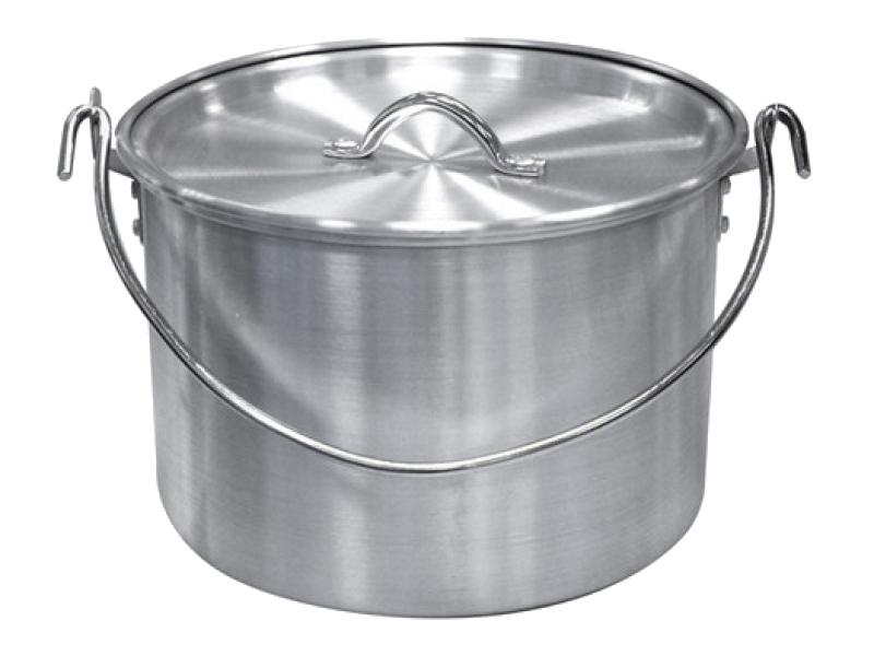 Посуда Tramp TRC-055 котел алюминиевый с крышкой<br>