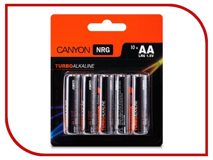 Батарейка AA - Canyon NRG Alkaline 10pcs/pack S6ALKAA10