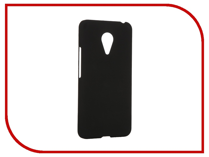 Аксессуар Чехол Meizu Pro 5 SkinBox 4People Black T-S-MP5-002 + защитная пленка<br>