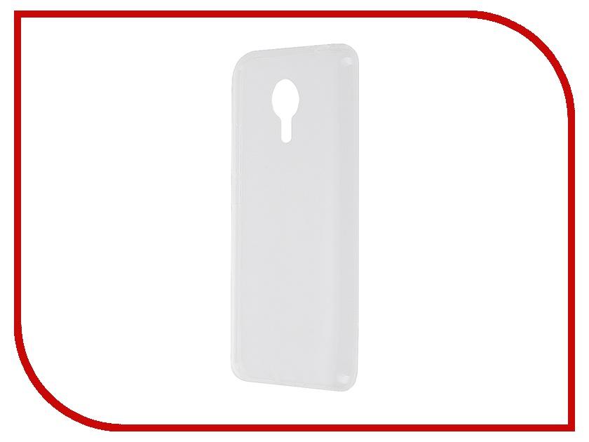 Аксессуар Чехол Meizu MX5 SkinBox Slim Silicone Transparent T-S-MM5X-005<br>