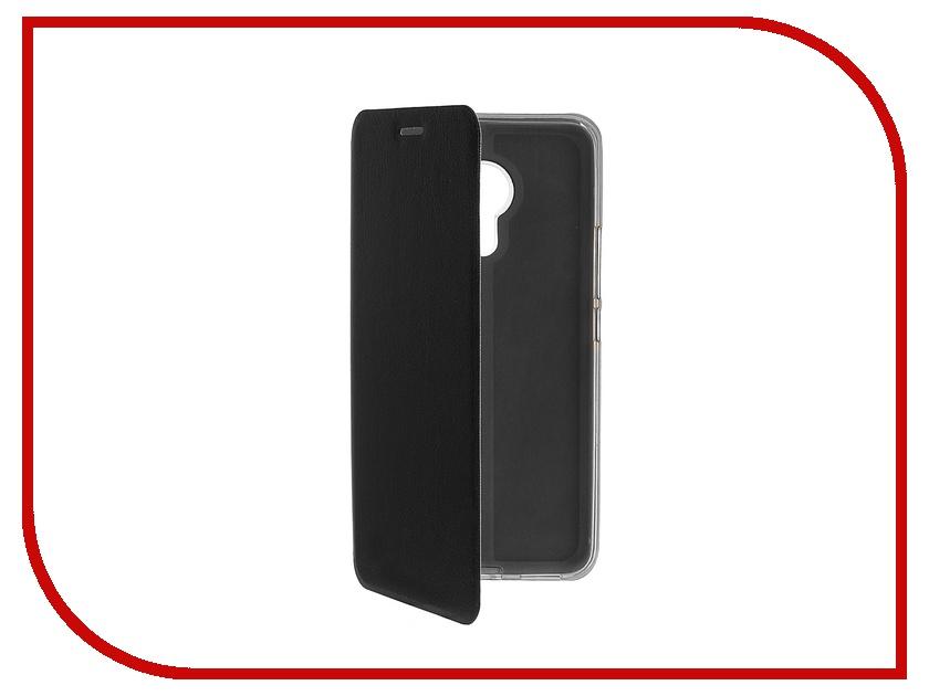 Аксессуар Чехол Meizu Pro 5 SkinBox Lux Black T-S-MP5-003
