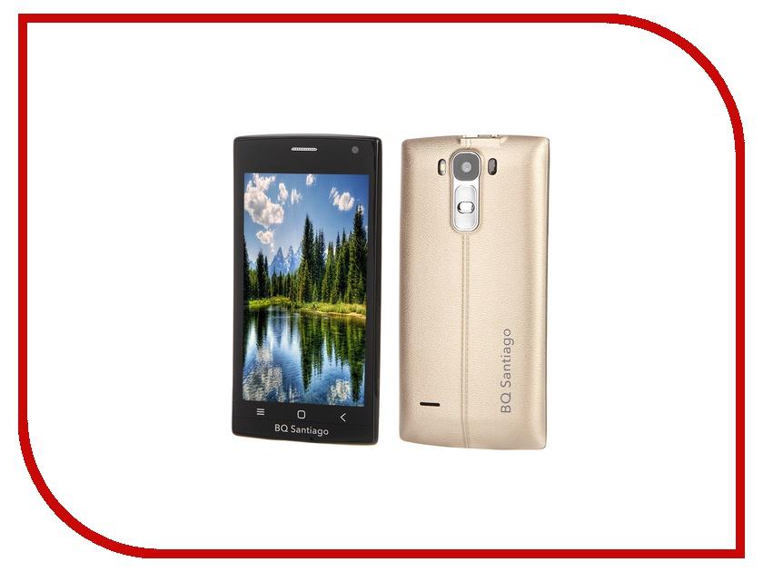 Сотовый телефон BQ BQS-4505 Santiago Gold<br>