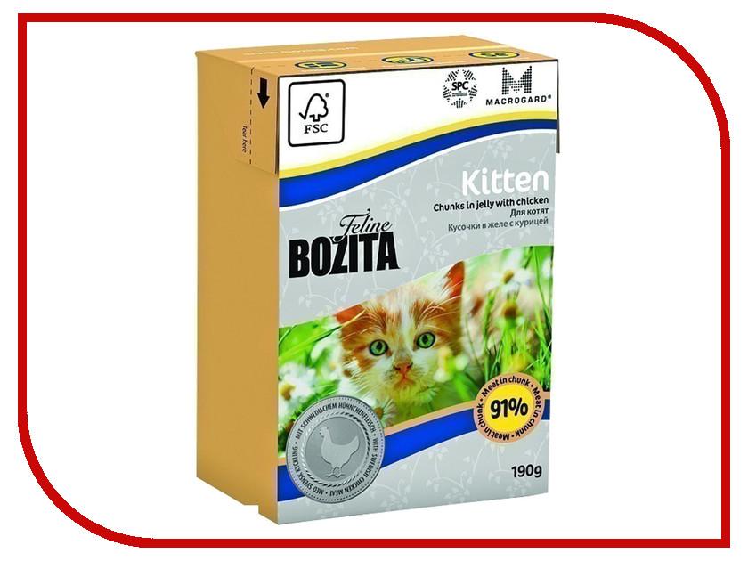 Корм BOZITA Feline Funktion Kitten 190g для кошек<br>