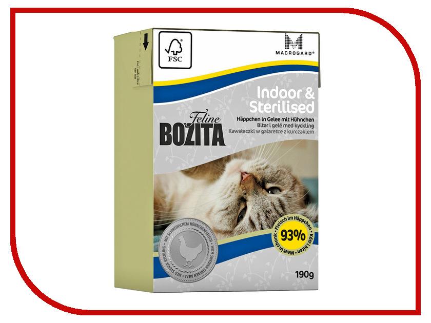 Корм BOZITA Feline Funktion Indoor &amp; Sterilised 190g для кошек<br>