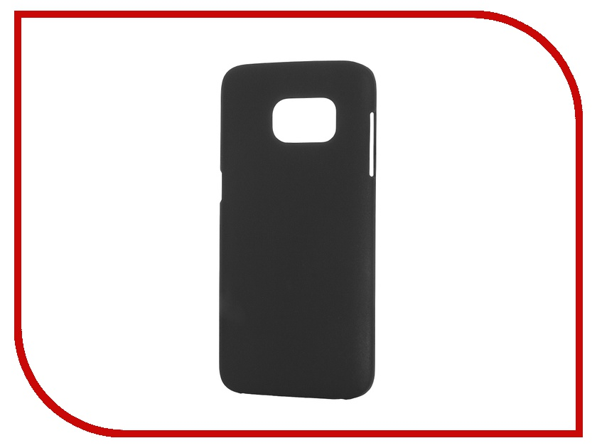 Аксессуар Чехол-накладка Samsung Galaxy S7 SkinBox Shield 4People Black T-S-SGS7-002<br>