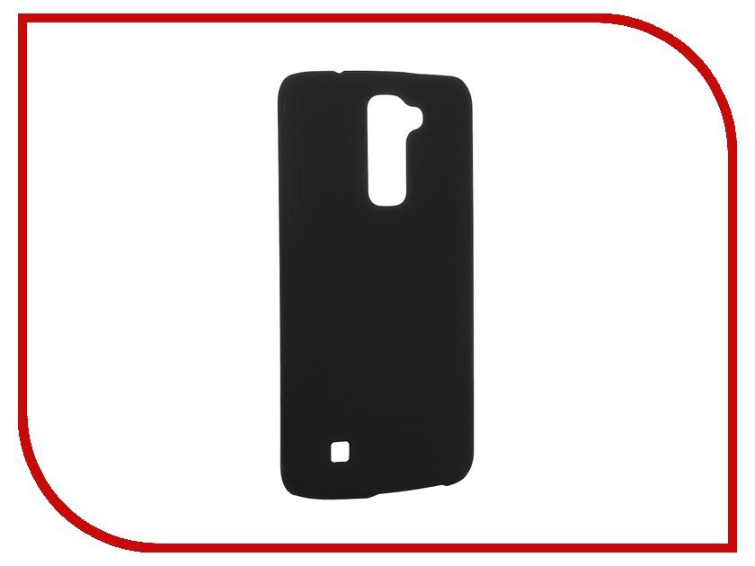 Аксессуар Чехол LG K10 SkinBox 4People Black T-S-LK10-002 + защитная пленка