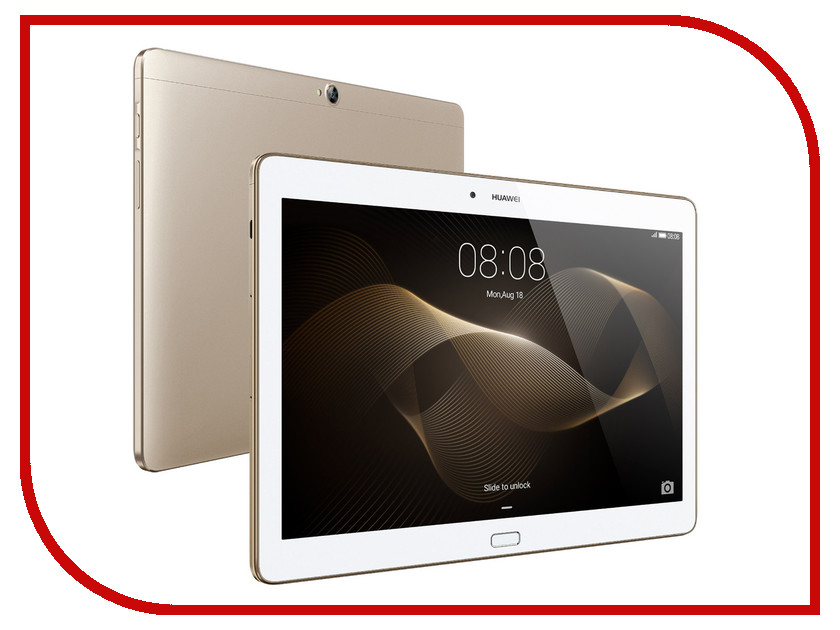 Планшет Huawei MediaPad M2 10.0 LTE 64Gb M2-A01L Gold HiSilicon Kirin 930 2.0 GHz/3072Mb/64Gb/Wi-Fi/3G/4G LTE/Bluetooth/GPS/Cam/10.1/1920x1200/Android<br>