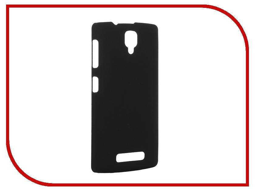 Аксессуар Чехол Lenovo A1000 SkinBox 4People Black P-S-LA1000-002 + защитная пленка<br>