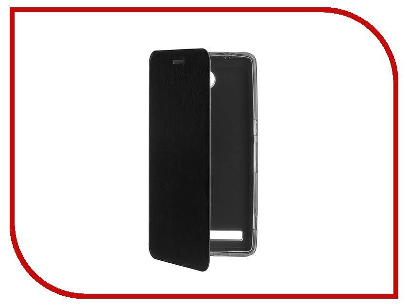 Аксессуар Чехол ZTE Nubia Z7 SkinBox Lux Black T-S-ZBZ7-003 nubia z11 mini