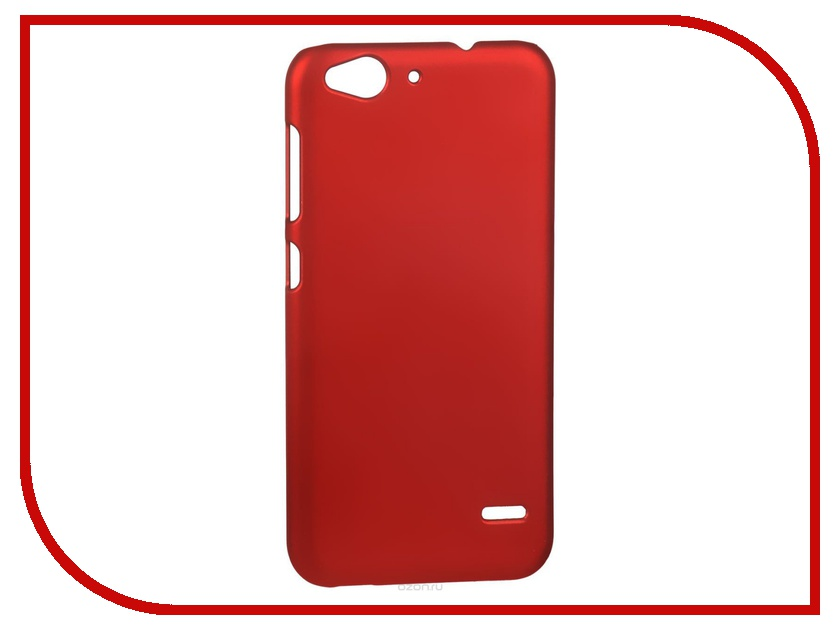 ��������� ����� ZTE Blade S6 SkinBox 4People Red T-S-ZBS6-002 + �������� ������
