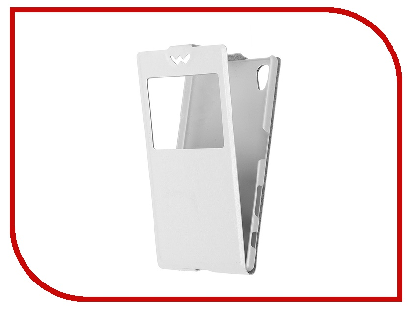 Аксессуар Чехол Sony Xperia Z5 SkinBox Slim AW White T-F-SXZ5-001