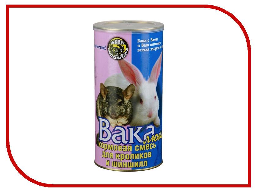 Корм Вака Люкс 800г для шиншилл и кроликов 02350