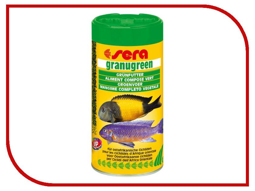 Корм Sera Granugreen 250ml для растительноядных цихлид 09630