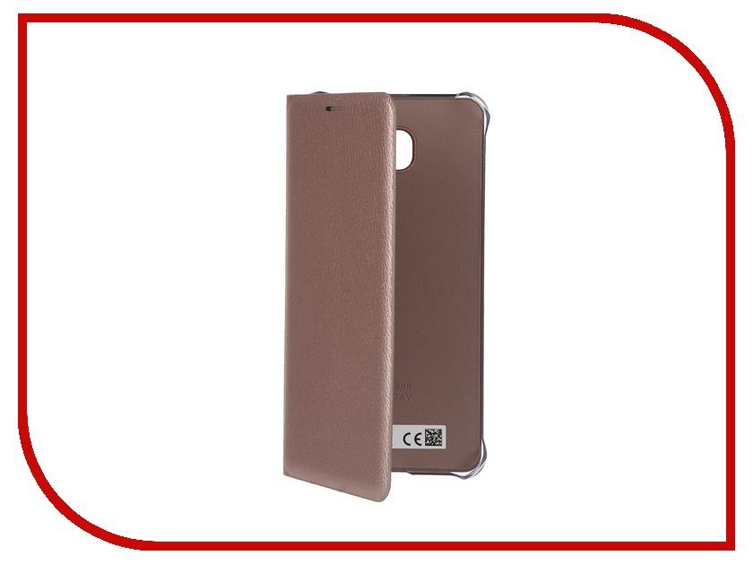 Аксессуар Чехол Samsung Galaxy A7 2016 Flip Wallet Cover Pink EF-WA710PZEGRU<br>