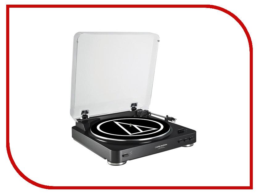 Проигрыватель виниловых дисков Audio-Technica AT-LP60BT BK<br>