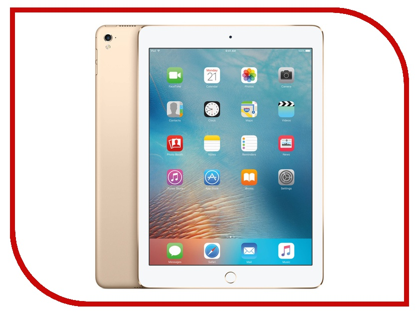 Планшет APPLE iPad Pro 9.7 32Gb Wi-Fi Gold MLMQ2RU/A планшет apple ipad wi fi 32gb gold золотой 9 7 retina display air 2 apple