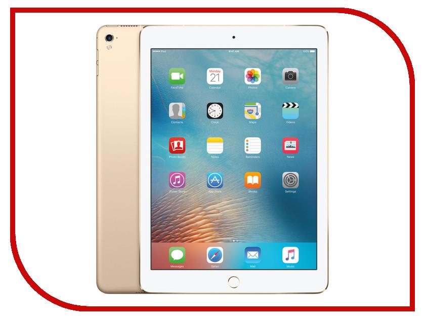 Планшет APPLE iPad Pro 9.7 128Gb Wi-Fi + Cellular Gold MLQ52RU/A планшет apple ipad 9 7 wi fi 32gb gold mpgt2ru a