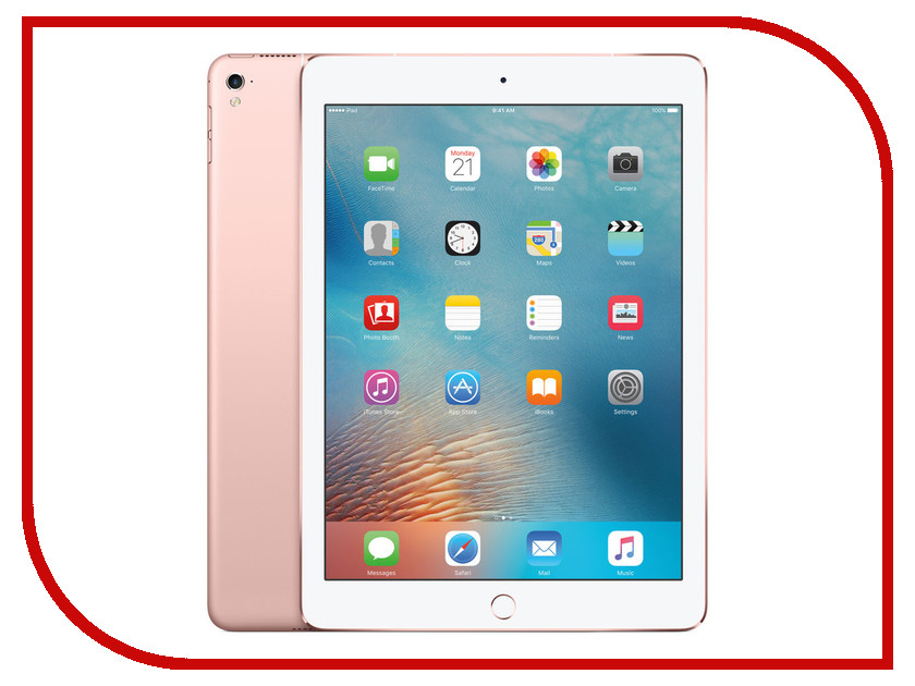 Планшет APPLE iPad Pro 9.7 128Gb Wi-Fi + Cellular Rose Gold MLYL2RU/A<br>