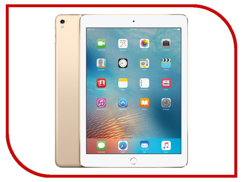 Планшет APPLE iPad Pro 9.7 256Gb Wi-Fi + Cellular Gold MLQ82RU/A<br>