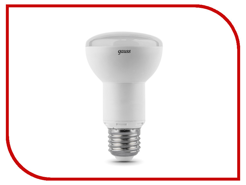 Лампочка Gauss R63 9W E27 4100K LD106002209<br>