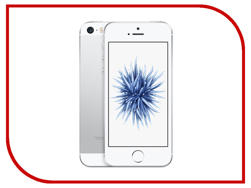 Сотовый телефон APPLE iPhone SE - 64Gb Silver MLM72RU/A<br>