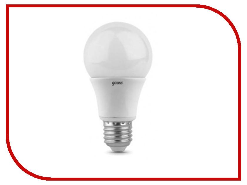 Лампочка Gauss LED A60 7W E27 4100K 102502207<br>