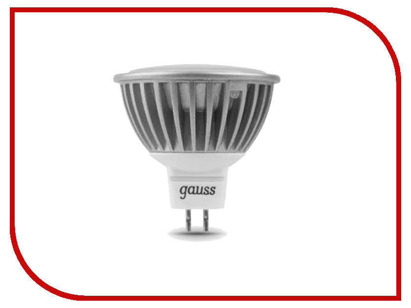 Лампочка Gauss LED MR16 5W GU5.3 AC220-240V 4100K EB101505205-D<br>